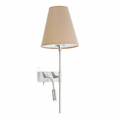 29992 Faro SABANA Beigewith LED left Фото