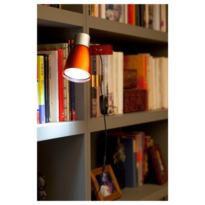 51965 Faro ALADINO LED Orange clip Фото