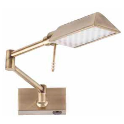 61046 Faro RAY LED Old gold Фото
