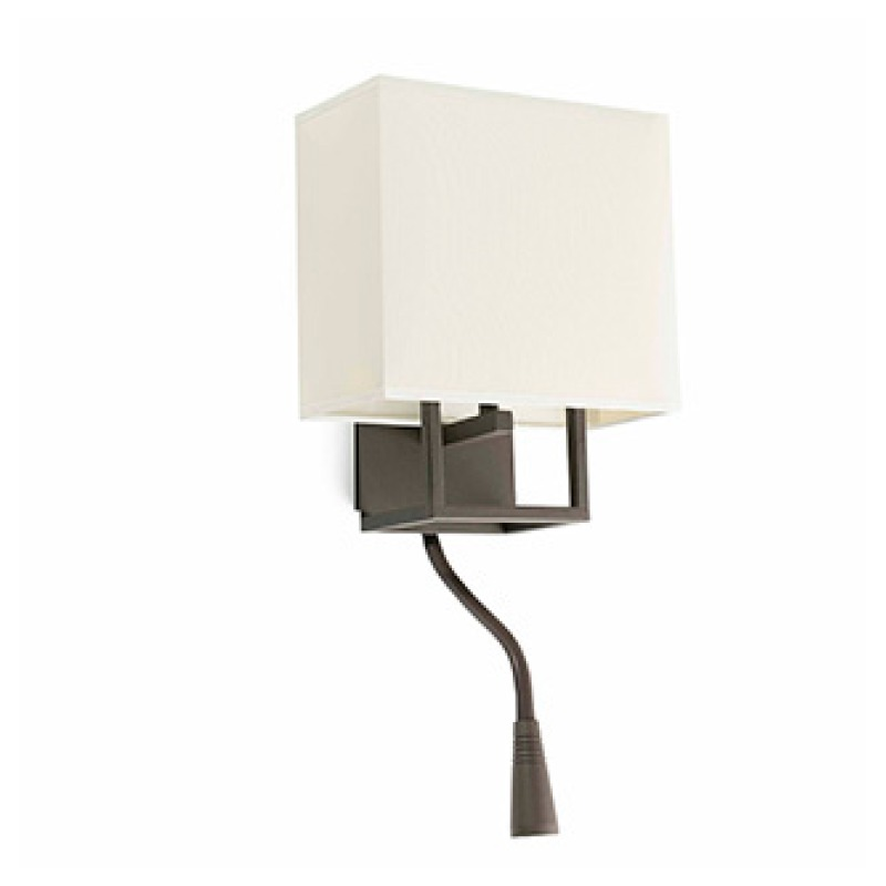 Бра 29983 Faro VESPER Brown and beigewith LED Фото