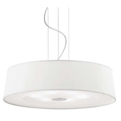 075518 Ideal-lux HILTON SP6 ROUND BIANCO Фото